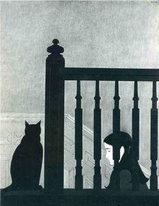 Will Barnet - The Bannister