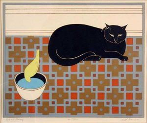 Will Barnet - Cat and Canary