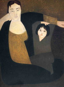 Will Barnet - Mother and child