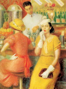 William James Glackens - Soda Fountain