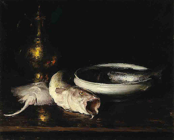 Still-Life, Oil On Canvas by William Merritt Chase (1849-1916, United States)