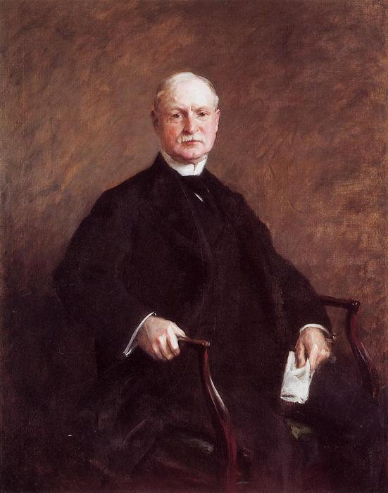 Colesberry Purves, Oil On Canvas by William Merritt Chase (1849-1916, United States)
