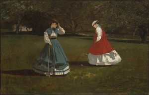 Winslow Homer - Game of Croquet