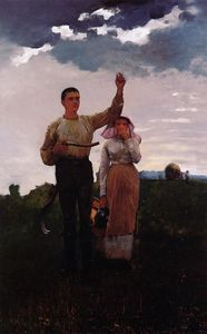 Winslow Homer - Answering the Horn