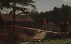 Winslow Homer - Old Mill (The Morning Bell)