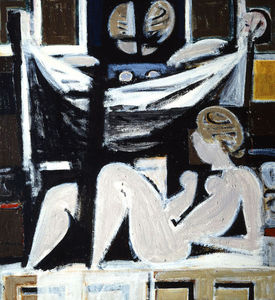 Yiannis Moralis - Funerary composition IV
