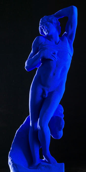 Dying by Yves Klein (1928-1962, France) |  | ArtsDot.com
