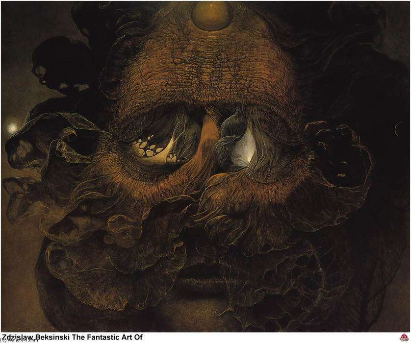 Untitled (489) by Zdislav Beksinski (1929-2005, Poland) |  | ArtsDot.com