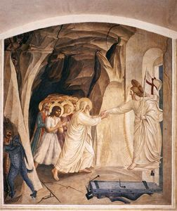 Fra Angelico - Christ in Limbo (Cell 31)