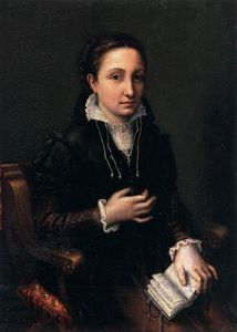 Lucia Anguissola - Self-Portrait
