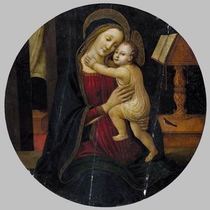 Jacopo Del Sellaio - Madonna and Child