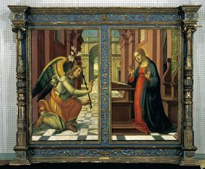 Jacopo Del Sellaio - The Annunciation