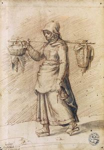 Giuseppe Arcimboldo - Farm Woman Going to Market