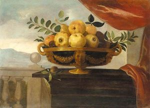 Pedro De Camprobín - Still-Life of Fruit