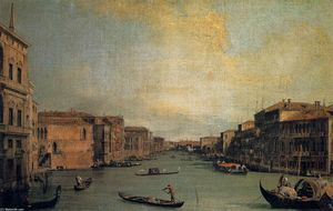 Giovanni Antonio Canal (Canaletto) - The Grand Canal