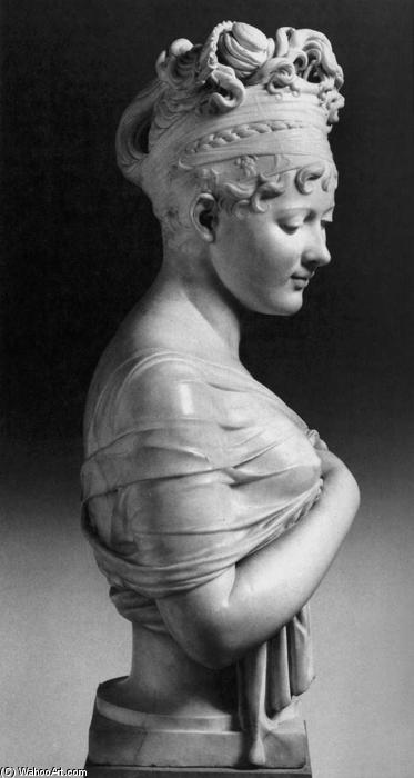 Madame Récamier, Marble by Joseph Chinard (1756-1813, France)