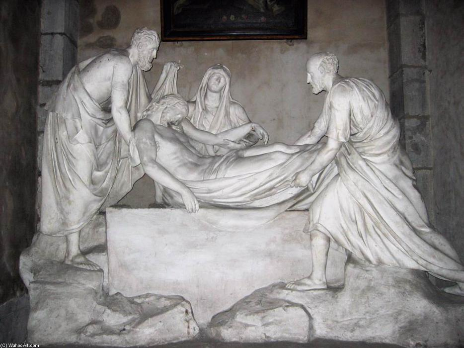 Entombment, Marble by Auguste Clésinger (1814-1883, France)