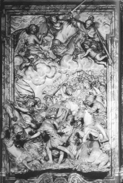 Battle of Anghiari, Marble by Giambattista Foggini (1652-1725, Italy)