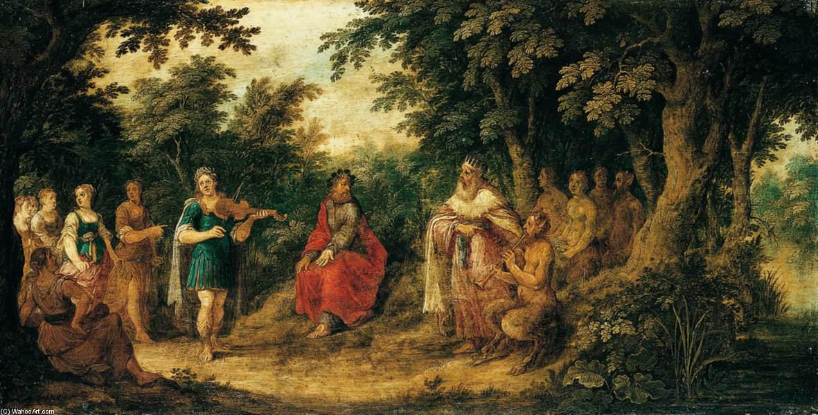 The Judgement of Midas by Abraham Govaerts (1589-1626, Belgium) | ArtsDot.com