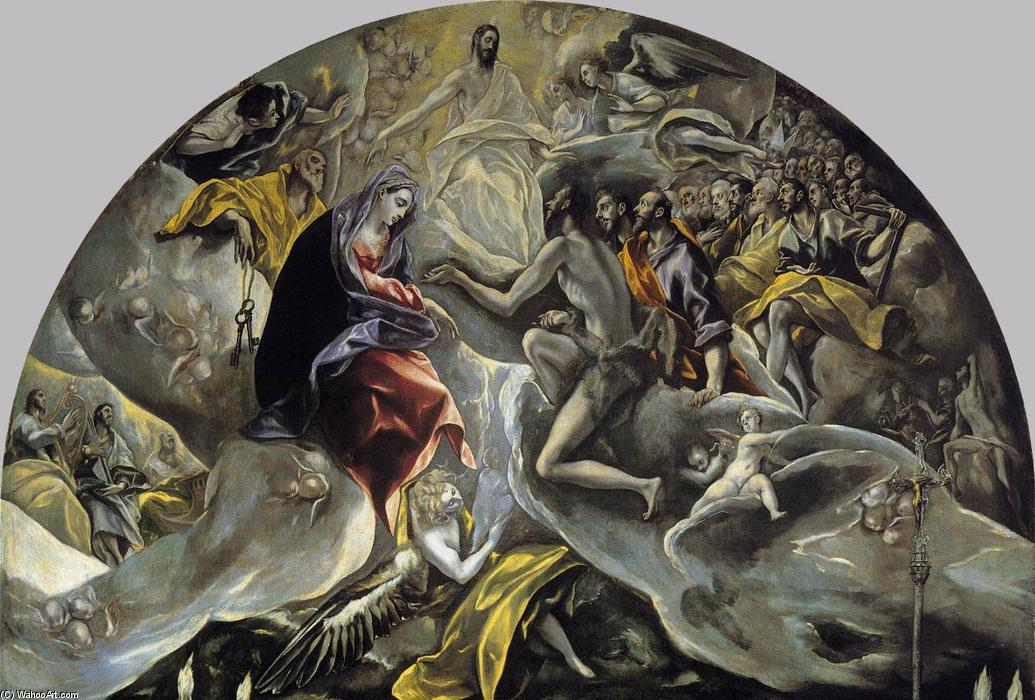an analysis of el grecos famous painting the burial of count orgaz
