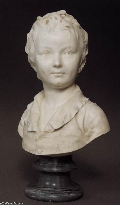 Bust of Alexandre Brongniart, 1777 by Jean Antoine Houdon (1741-1828, France) | Museum Art Reproductions | ArtsDot.com