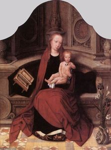 Adriaen Isenbrant - Virgin and Child Enthroned