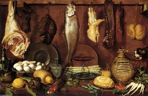 Jacopo Da Empoli - Kitchen Still-Life