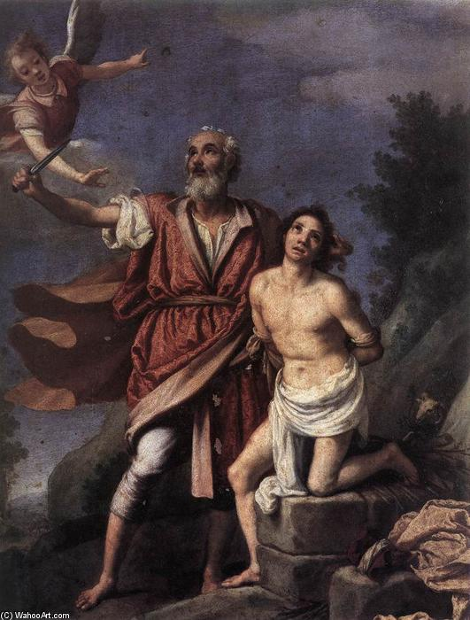 Order Museum Quality Copies | Sacrifice of Isaac, 1590 by Jacopo Da Empoli (1551-1640, Italy) | ArtsDot.com