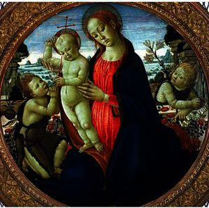 Jacopo Del Sellaio - Madonna and Child with In..