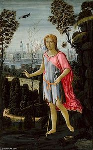 Jacopo Del Sellaio - Saint John the Baptist