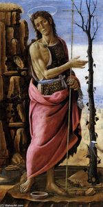 Jacopo Del Sellaio - St John the Baptist