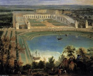 Jean-Baptiste Martin (Mar.. - View of the Orangerie (de..