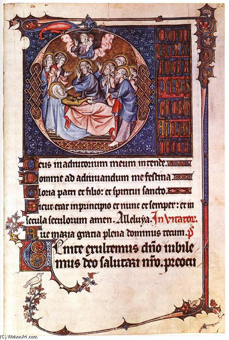 Book of Hours, Illumination by Master Honoré