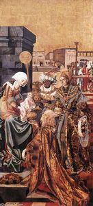 Master M S - The Adoration of the Magi