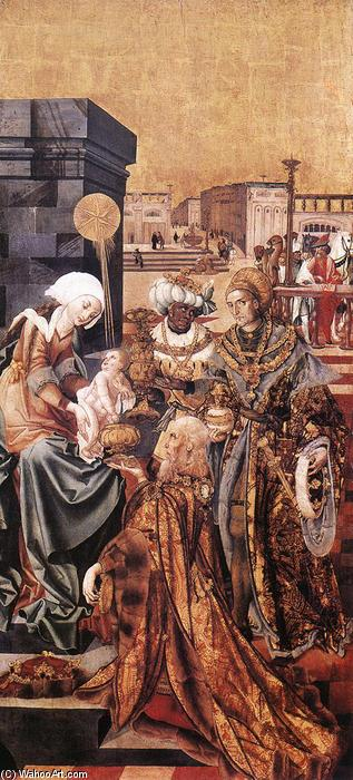 The Adoration of the Magi, Tempera by Master M S