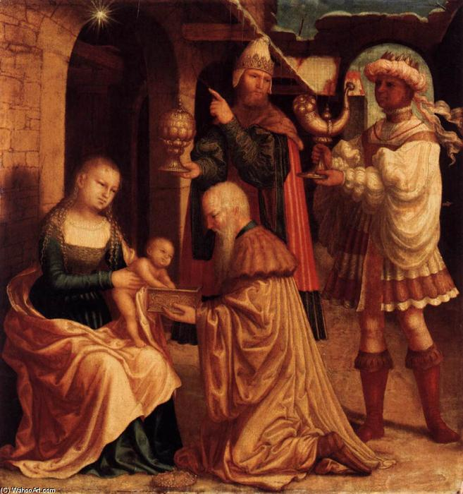 The Adoration of the Magi, 1530 by Master Of Ab Monogram | ArtsDot.com