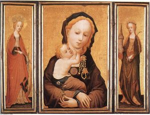 Master Of Saint Veronica - Triptych