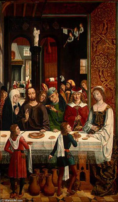The Marriage at Cana by Master Of The Catholic Kings | Paintings Reproductions Master Of The Catholic Kings | ArtsDot.com