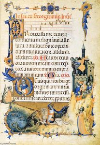 Master Of The Codex Of Sa.. - Codex of St George (Folio..
