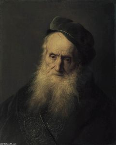 Jan Andrea Lievens - Study of an Old Man