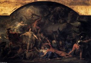 Charles Le Brun - The Conquest of Franche-C..