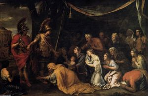 Charles Le Brun - The Family of Darius befo..