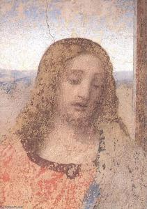 Leonardo Da Vinci - The Last Supper (detail)
