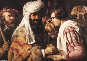 Jan Andrea Lievens - Pilate Washing his Hands