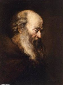 Jan Andrea Lievens - Portrait of an Old Man