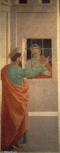 Filippino Lippi - St Paul Visits St Peter in Prison