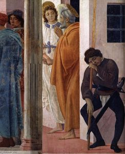 Filippino Lippi - St Peter Freed from Prison (detail)