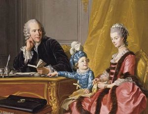 Louis Michel Van Loo - The Devin Family