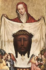 Master Of Saint Veronica - St. Veronica with the Hol..
