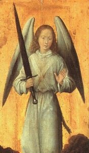Hans Memling - The Archangel Michael